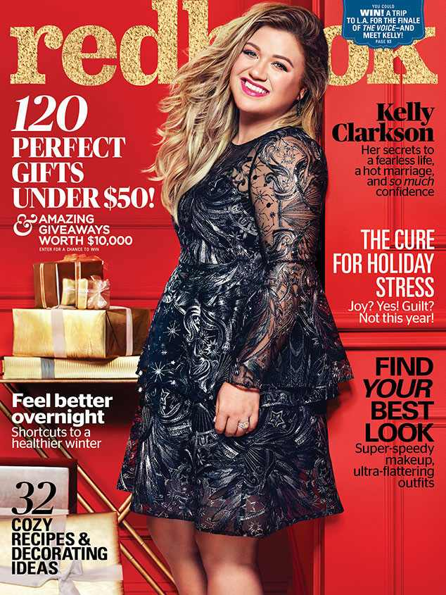 Kelly Clarkson, December/January, Redbook